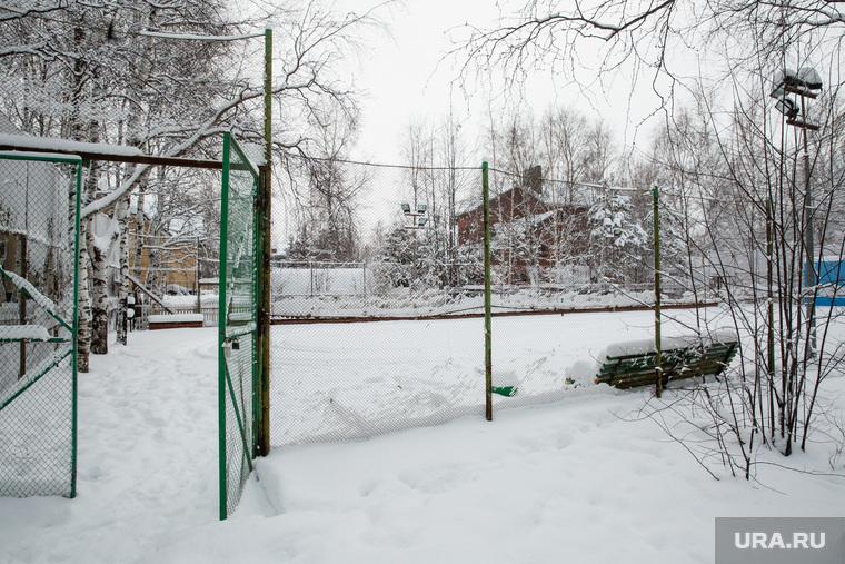 """Коттеджный поселок """"Березка"""". Сургут, теннисный корт"""