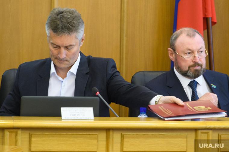 Заседание городской Думы Екатеринбурга и уход Евгения Ройзмана в отставку, ройзман евгений, тестов виктор