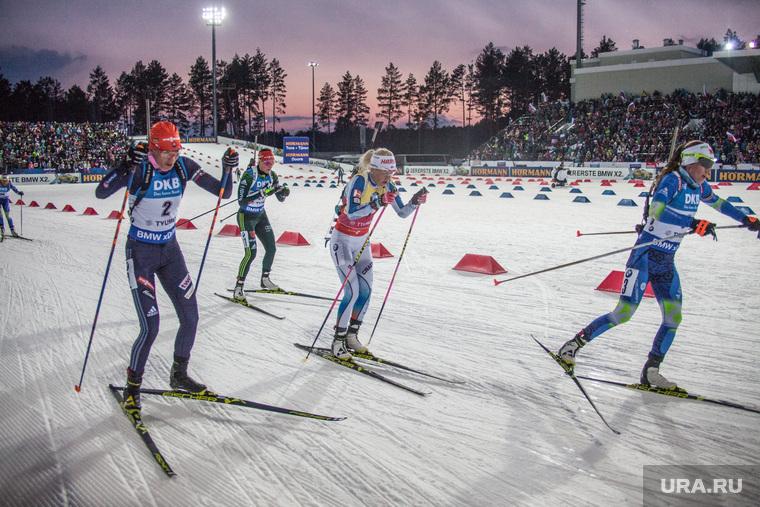 Заключительный этап Кубка мира по биатлону, Тюмень, биатлон, спорт, соревнование, Кузьмина, Макарайнен