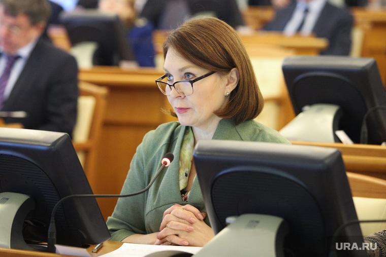 Заседание правительства Курганской области, кокорина лариса