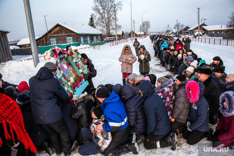 Рождественская традиция деревни Осиновка. Тюм. Область