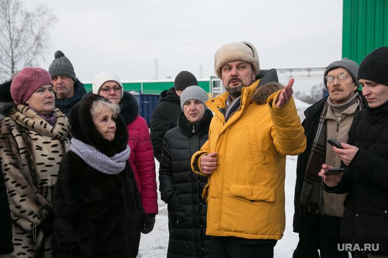 Посещение инициативными гражданами мусоросортировочного завода. Тюмень, фрумкин константин