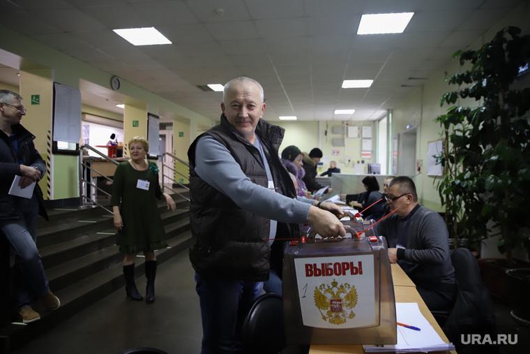 Повторные выборы губернатора Приморского края.  Владивосток, урна для голосования, выборы