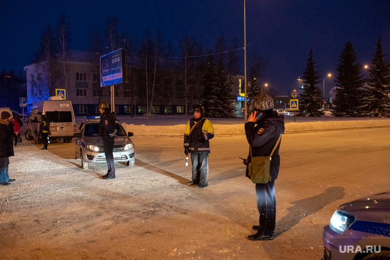Экстренные службы в аэропорту Ханты-Мансийска, полиция, дпс