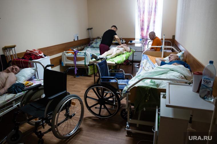 """Хоспис """"Золотое Сердце"""". Сургут, больничная палата, хоспис"""