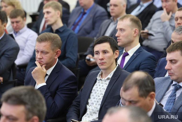 Встреча предпринимателей с врио губернатора Вадимом Шумковым. Курган, мишагин михаил