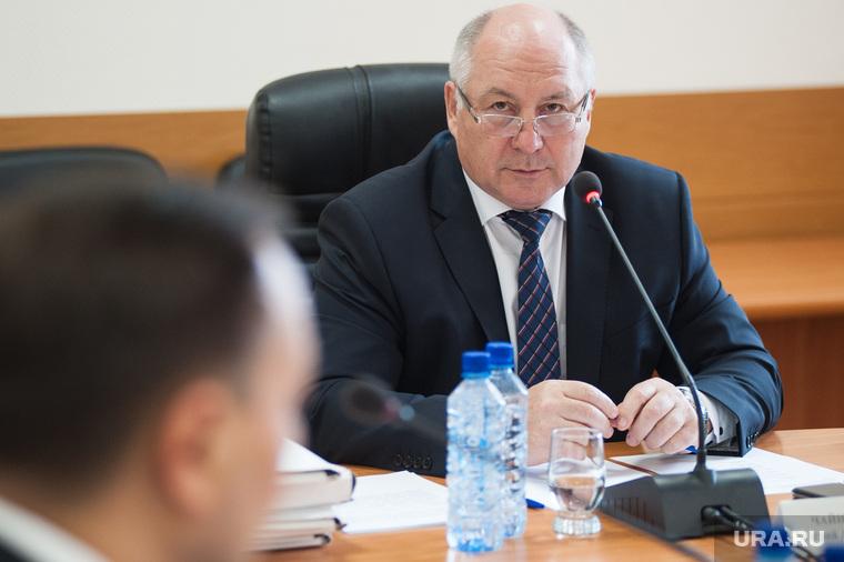 Второй день собеседований с претендентами на должность градоначальника Екатеринбурга, чайников валерий