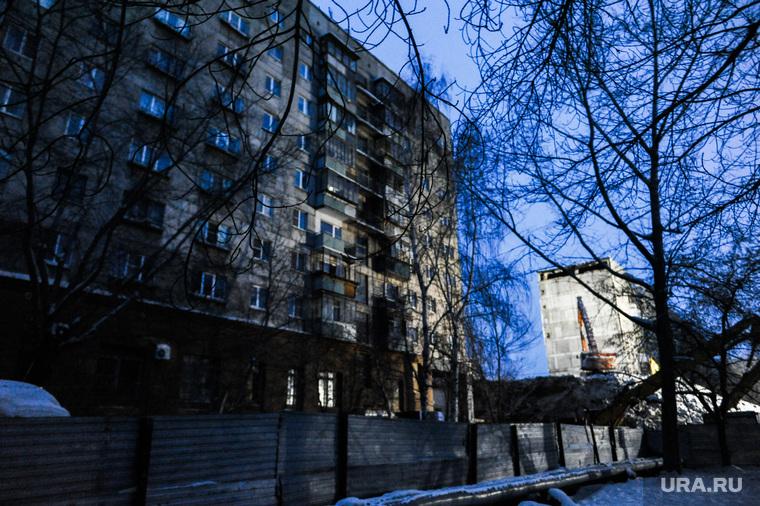 Магнитогорск. Дом со взрывом. РасследованиеЧелябинская область, демонтаж, проспект карла маркса 164, место обрушения, грейфер