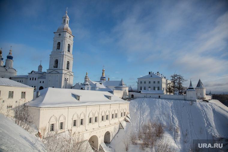 Посад сибирских старожилов и виды города. Тобольск, тобольский кремль