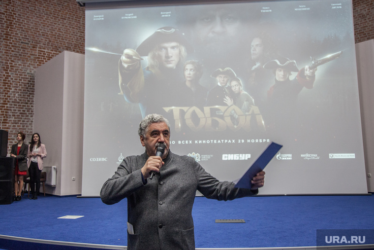 Пресс-конференция посвященная фильму «Тобол». Тюмень, урушев олег