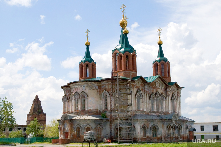 Далматовский монастырьКурганская обл. Архив 2013г. , далматовский монастырь