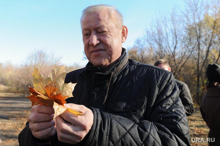Поездка Бориса Дубровского в сквер Плодушка. Челябинск