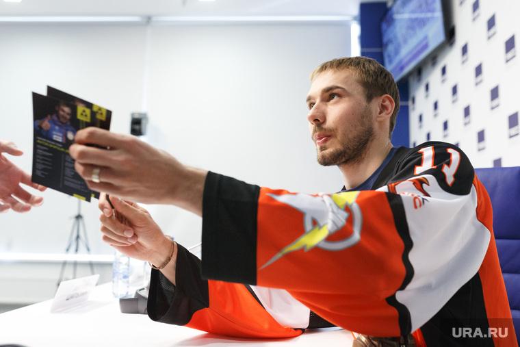 Пресс-конференция, посвященная благотворительному хоккейному матчу г. Екатеринбург