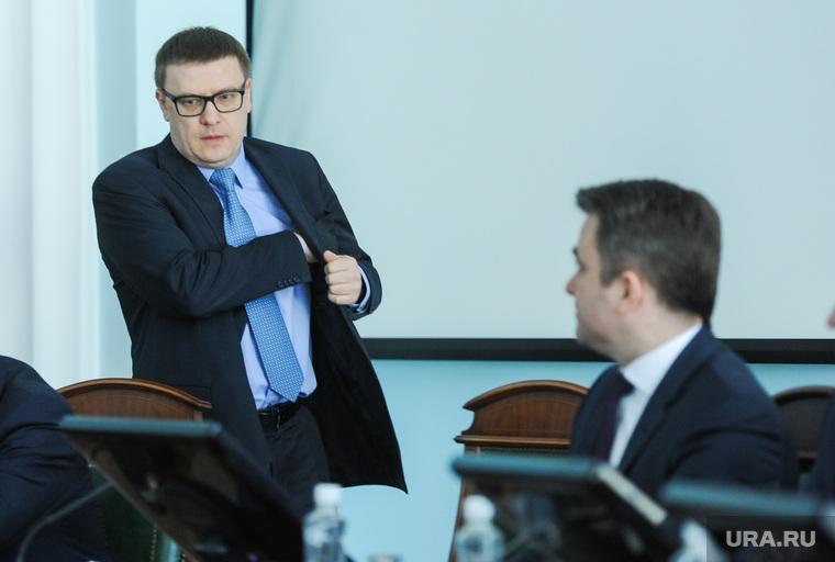 Текслер, совещание с главами. Челябинск
