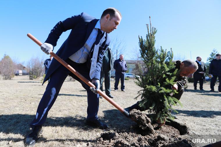 Визит врио губернатора Шумкова Вадима в Шатровский район