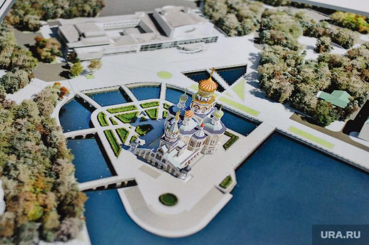 Интервью с архитектором Михаилом Голобородским - автор проекта эскиза Собора Святой Екатерины. Екатеринбург