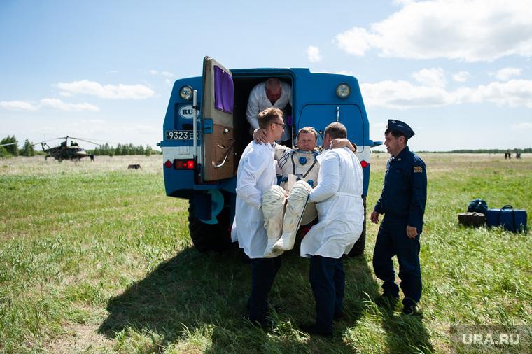 Учения по поиску и эвакуации космического корабля «Союз». Челябинская область, поселок Увельский