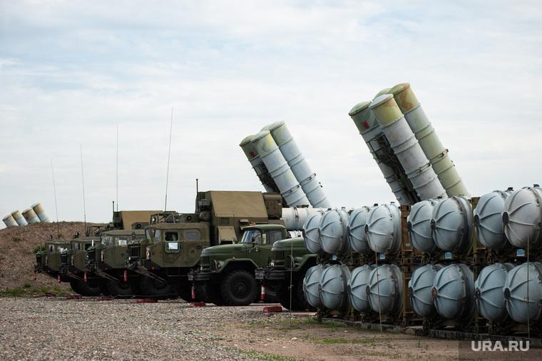 Учения зенитно-ракетной бригады. Республика Хакасия, Абакан