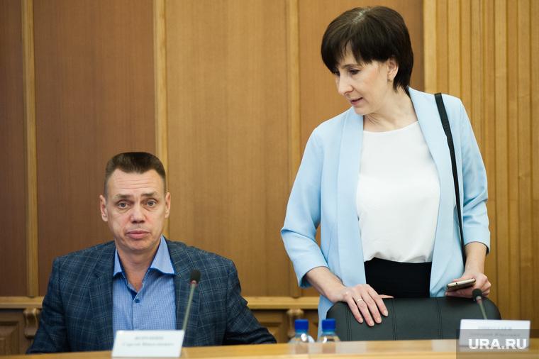 Третье заседание Екатеринбургской городской Думы. Екатеринбург