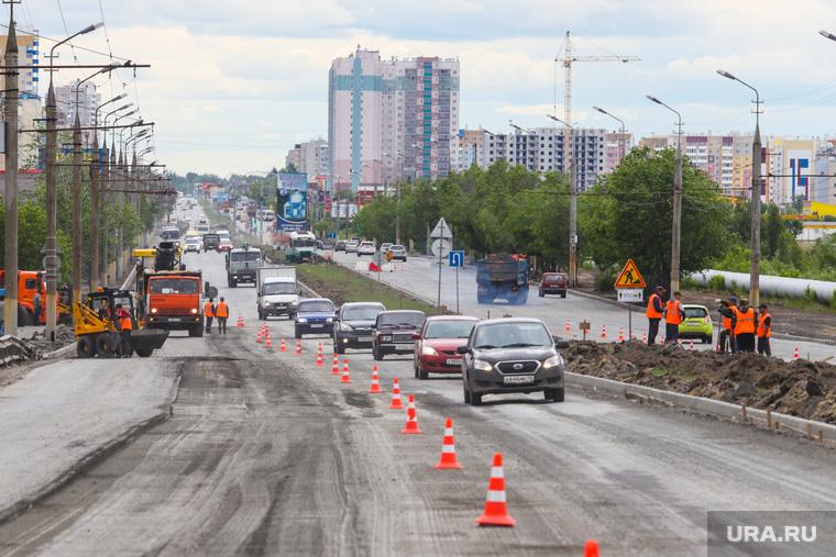 Ремонт дорог в рамках национального проекта. Курган