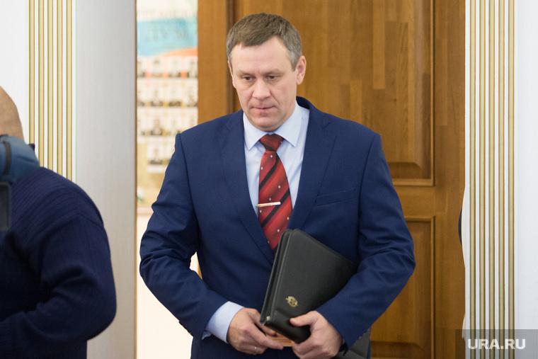 Заседание у врио губернатора Курганской области Вадима Шумкова. г. Курган