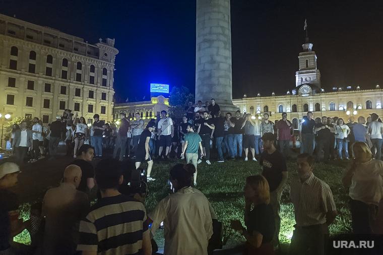 Протесты в Грузии. Тбилиси