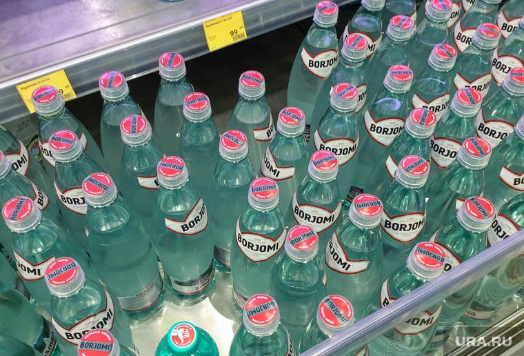 Точки продажи воды в центре Екатеринбурга