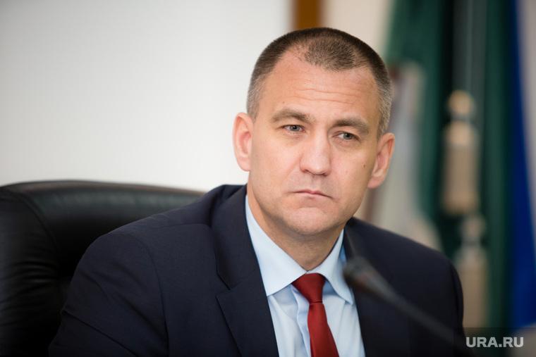 Пресс-чай у главы Сургутского района Андрея Трубецкого. Сургут