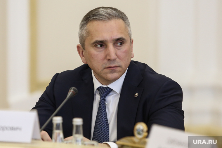 Совещание о реализации национальных проектов с министром финансов Антоном Силуановым. Тюмень