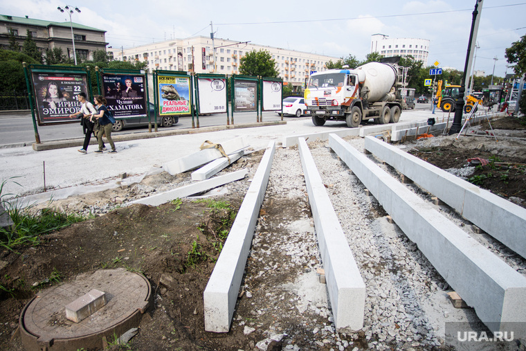 Ремонт дорог и тротуаров в Екатеринбурге