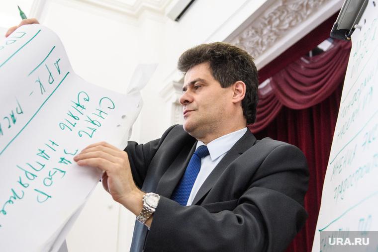 Встреча Александра Высокинского со сторонниками храма Святой Екатерины. Екатеринбург