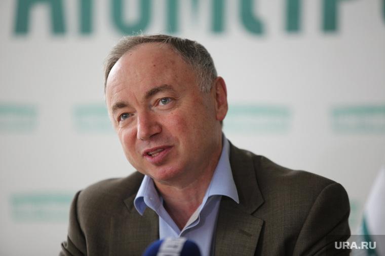 Пресс-конференция Атомстройкомплекса. Екатеринбург