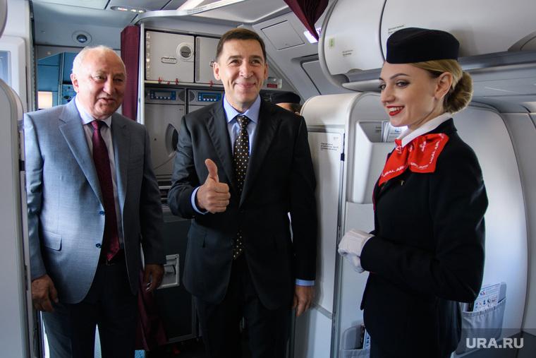 """Презентация самолёта """"Airbus A320neo"""". Екатеринбург"""