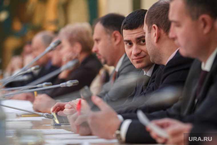 Совещание по инвестициям в резиденции губернатора. Екатеринбург