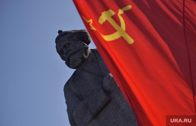 Митинг КПРФ на площади Революции. Москва.