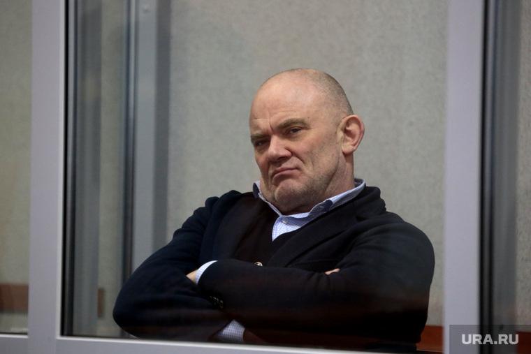 Предприниматель Владимир Нелюбин во время заседания суда. Пермь