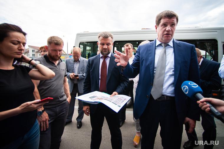 Объезд парковых зон Екатеринбурга в рамках рабочей группы по благоустройству