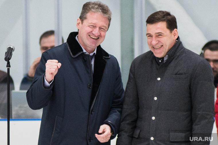 Торжественное открытие новой ледовой арены. Свердловская область, Реж