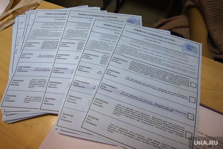 Повторные выборы губернатора Приморского края.Владивосток