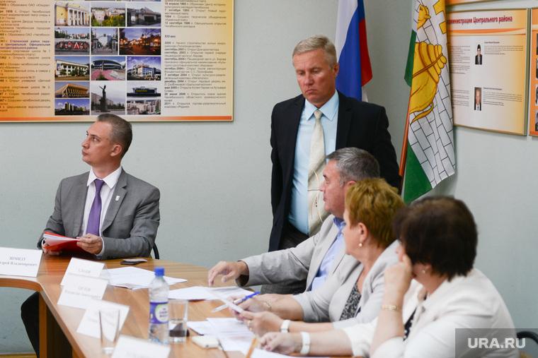 Администрация центрального района. Сложение полномочий Хлызова. Челябинск.
