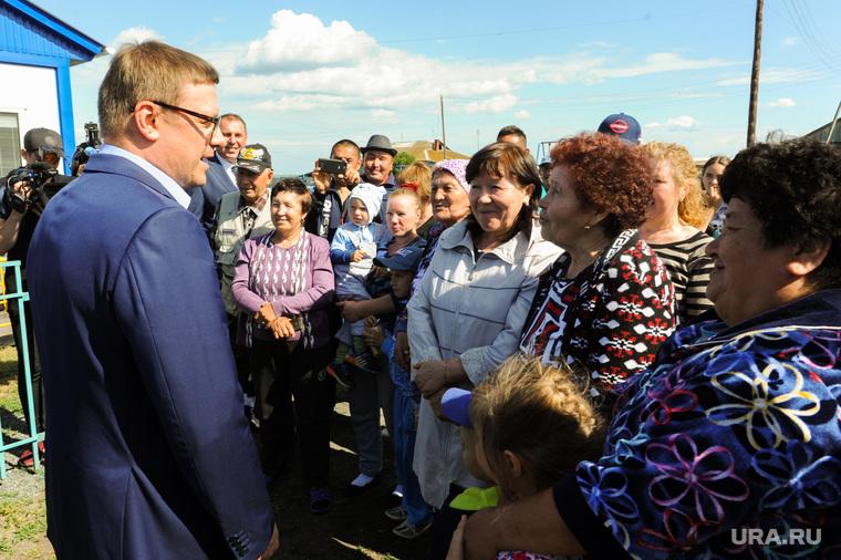 Рабочий визит Алексей Текслера в Кунашак. Челябинская область
