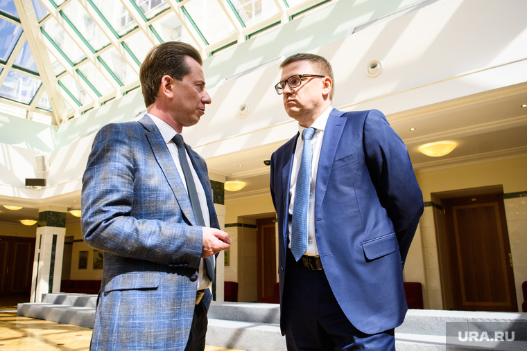 Совещание с Юрием Чайкой в резиденции губернатора. Екатеринбург