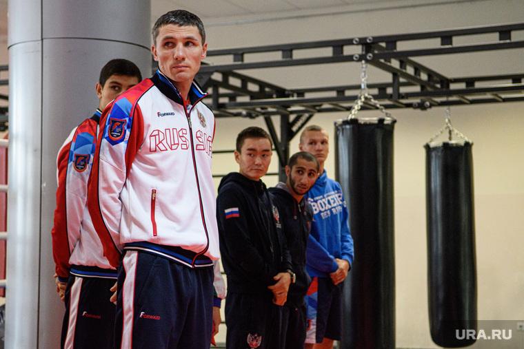 Открытая тренировка сборной России по боксу. Екатеринбург