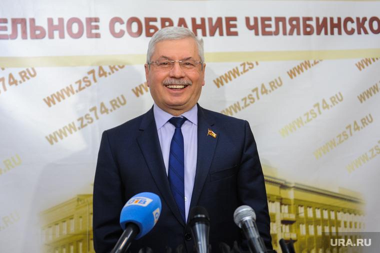 Мякуш Владимир, пресс-конференция. Челябинск