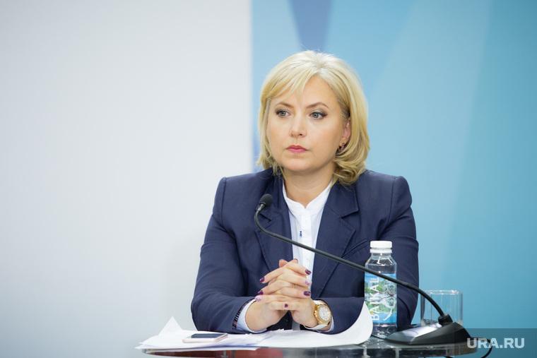 Пресс-конференция губернатора ХМАО-Югры Комаровой Натальи. Ханты-Мансийск