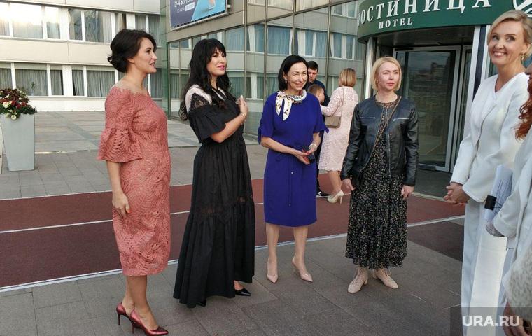 Финал конкурса «Рожденная побеждать» с участием Ирины Текслер, Челябинск