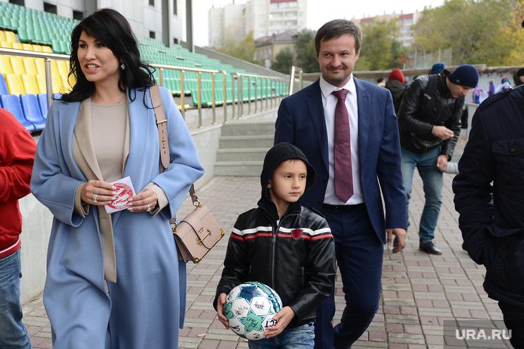 Ирина Текслер на открытии фестиваля детского дворового футбола Метрошка. Челябинск