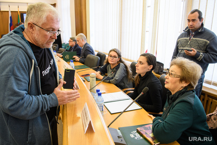 Заседание рабочей группы по месту строительства Храма Святой Екатерины. Екатеринбург