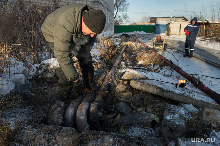 Коммунальная авария в посёлке Мартюш. Свердловская область