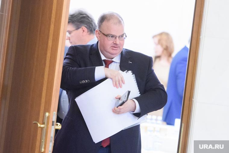 Участники совбеза при губернаторе Свердловской области. Екатеринбург